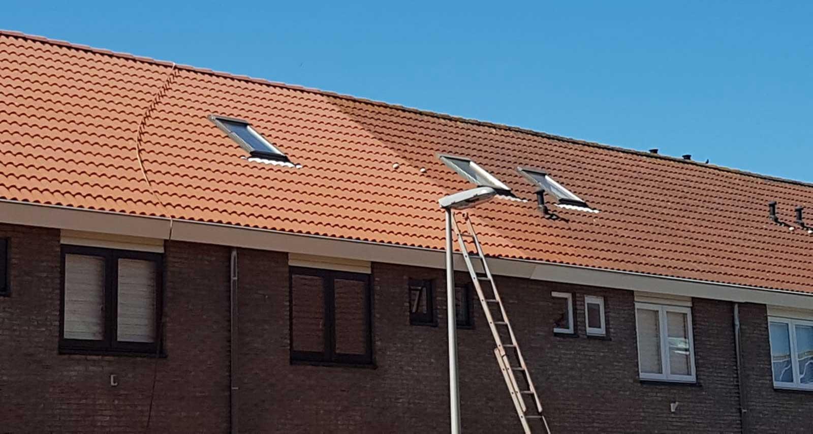 Aanslag dakpannen opgelost